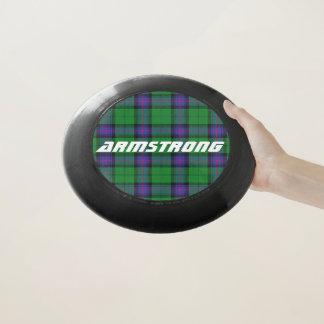 Scottish Funtime Clan Armstrong Tartan Plaid Wham-O Frisbee