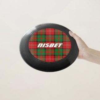 Scottish Funtime Clan Nisbet Tartan Plaid Wham-O Frisbee