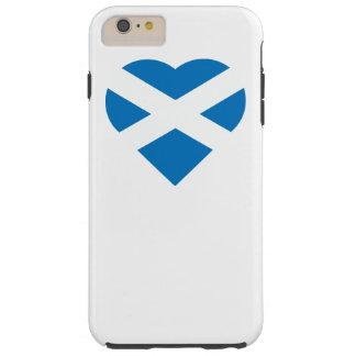 Scottish heart flag St. Andrew's Cross Saltire Tough iPhone 6 Plus Case