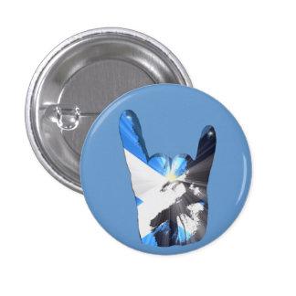 Scottish Heavy Metal Fan Badges 1 Inch Round Button