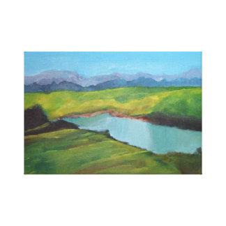 Scottish Highland Canvas Print
