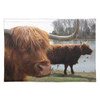 Scottish Highland Cattle ~ Placemat