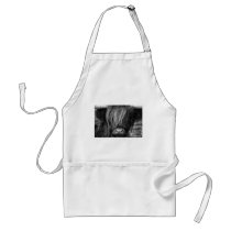 Scottish Highland Cattle - Scotland Adult Apron