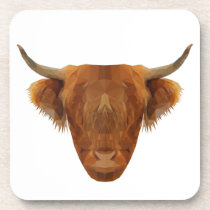 Scottish Highland Cattle Scotland Animal Cow Coaster