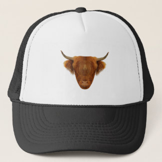 Scottish Highland Cattle Scotland Animal Cow Trucker Hat