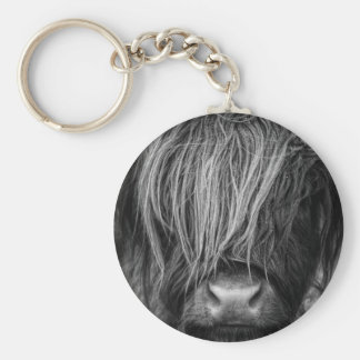 Scottish Highland Cattle - Scotland Keychain