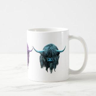 Scottish Highland Cow Classic White Coffee Mug