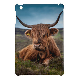 a66996fb102 Scottish Highland Cow Longhorn Bull Rancher Cover For The iPad Mini