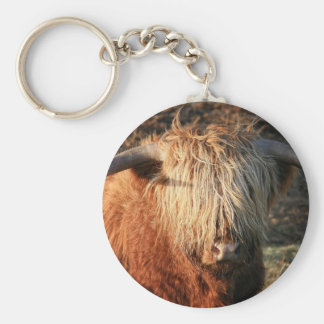 Scottish Highland Cow - Scotland Keychain