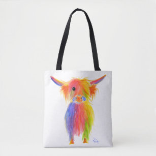 Scottish Highland Cow Tottie Bag