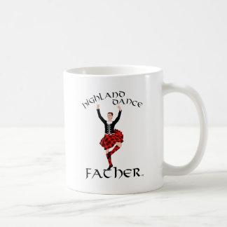 Scottish Highland Dance Father Classic White Coffee Mug