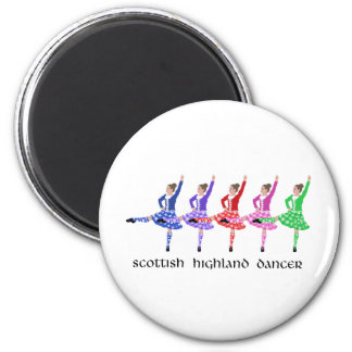 Scottish Highland Dance Line Magnet