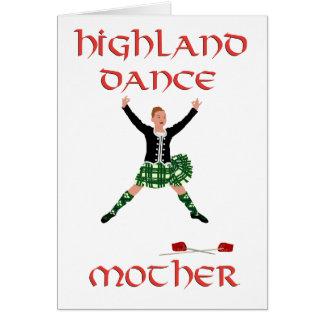 Scottish Highland Dance Mother Card