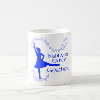 Scottish Highland Dance Teacher - Blue Classic White Coffee Mug