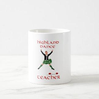 Scottish Highland Dance Teacher Coffee Mugs