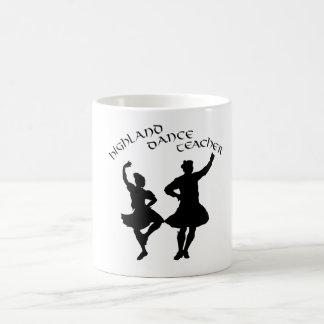 Scottish Highland Dance Teacher - Silhouette Classic White Coffee Mug