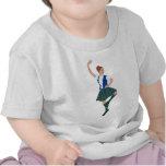 Scottish Highland Dancer - Black Watch T Shirts