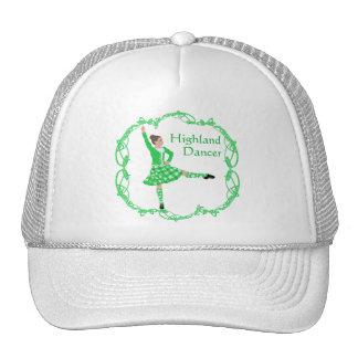 Scottish Highland Dancer - Green Trucker Hat