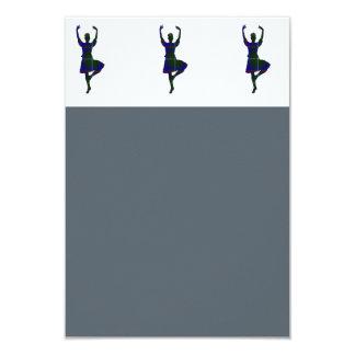 Scottish Highland Dancers Card