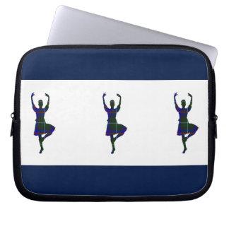 Scottish Highland Dancers Laptop Computer Sleeve