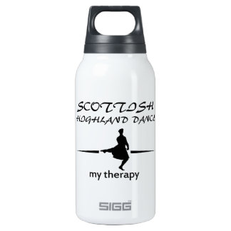 Scottish Highland dancing designs Thermos Water Bottle