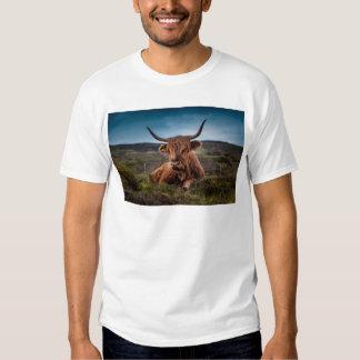 Scottish Highland longhorns Rancher T Shirt