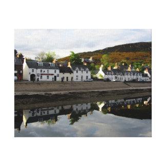 Scottish Highland Village Canvas