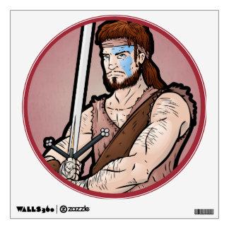 Scottish Highlander Wall Sticker