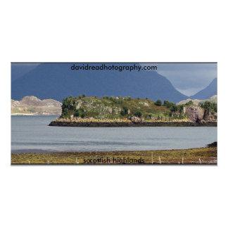 Scottish Highlands Personalized Photo Card