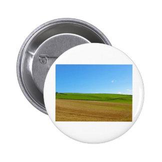 Scottish hill pinback button
