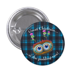 Scottish Hoots Toots. Chieftain Button