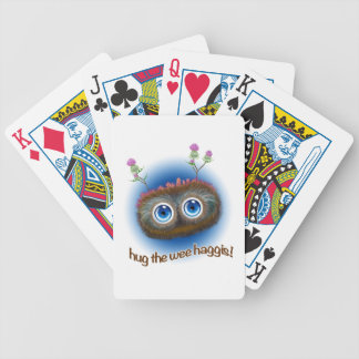 Scottish 'Hoots Toots Haggis' Bicycle Playing Cards