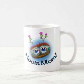 Scottish Hoots Toots Haggis Classic White Coffee Mug