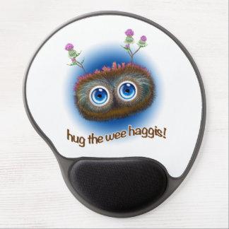 Scottish 'Hoots Toots Haggis' Gel Mouse Pad