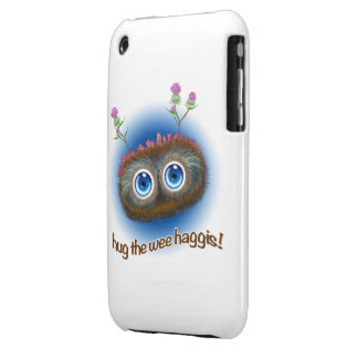 Scottish 'Hoots Toots Haggis' iPhone 3 Case