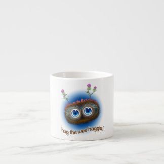 Scottish 'Hoots Toots Haggis' Espresso Mugs