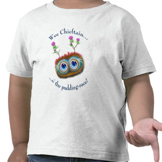 Scottish Hoots Toots Haggis. Wee Chieftain. Tshirt