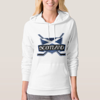 Scottish Ice Hockey Flag Logo Hoodie