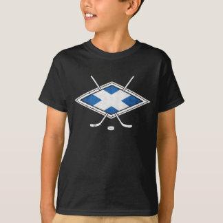 Scottish Ice Hockey Flag T-Shirt