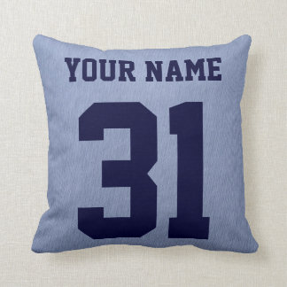 Scottish Ice Hockey Pillow, Customisable Throw Pillow