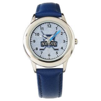 Scottish Ice Hockey Shield Logo Wrist Watch