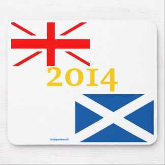 Scottish Independence 2014 Mousemat Mouse Pad
