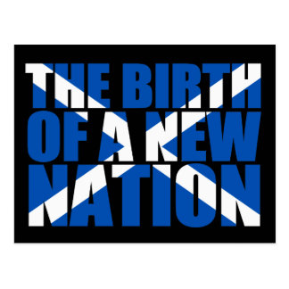 Scottish Independence: Birth of a new nation, Postcard