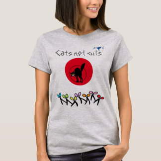 Scottish Independence Cats Not Cuts T-Shirt