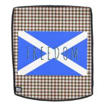 Scottish Independence Clan Stuart Tartan Freedom Backpack