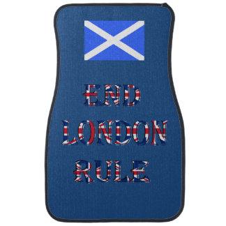 Scottish Independence End London Rule Car Mat