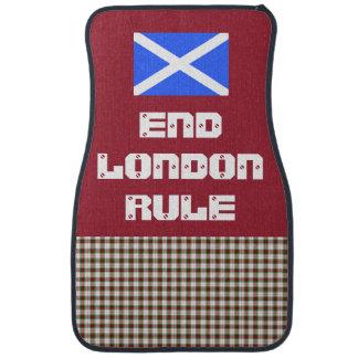 Scottish Independence End London Rule Car Set Car Floor Mat