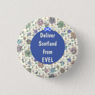 Scottish Independence Evel Trident Button