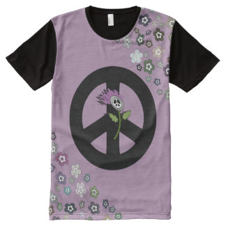 Scottish Independence Floral No Trident Tee
