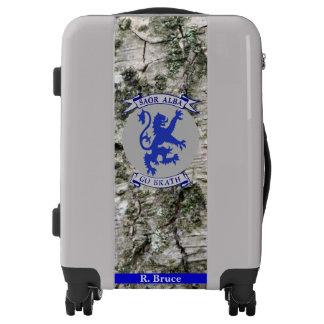 Scottish Independence Gaelic Saor Alba Tree Luggage